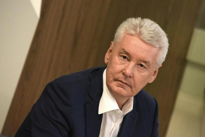На фото мэра Москвы Сергей