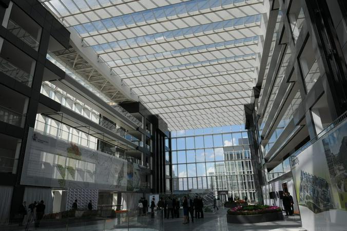 Строительство второй очереди офисного парка Comcity завершат в 2021 году