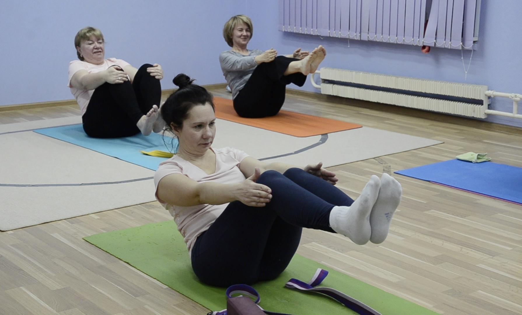 Мастер-класс по стретчингу пройдет в прямом эфире ДК «Пересвет» в Рязановском