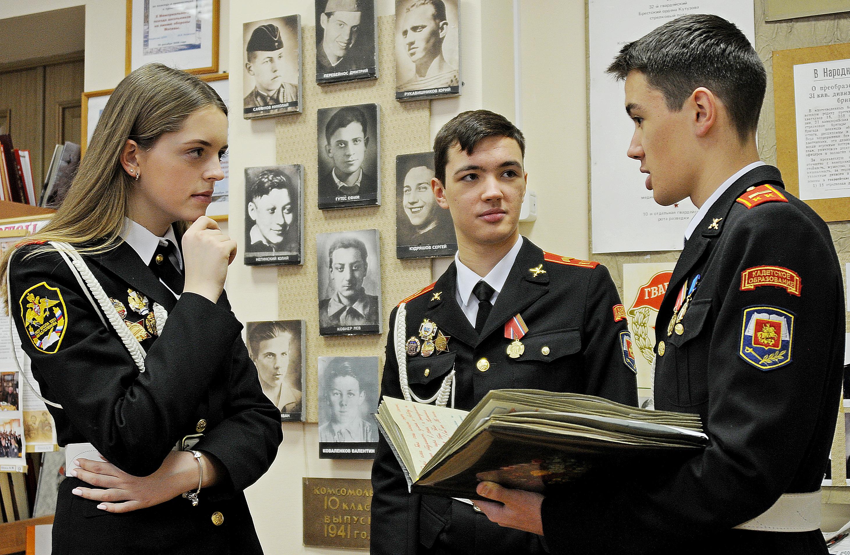 Кадеты из Вороновского стали победителями викторины «Ратные подвиги России»