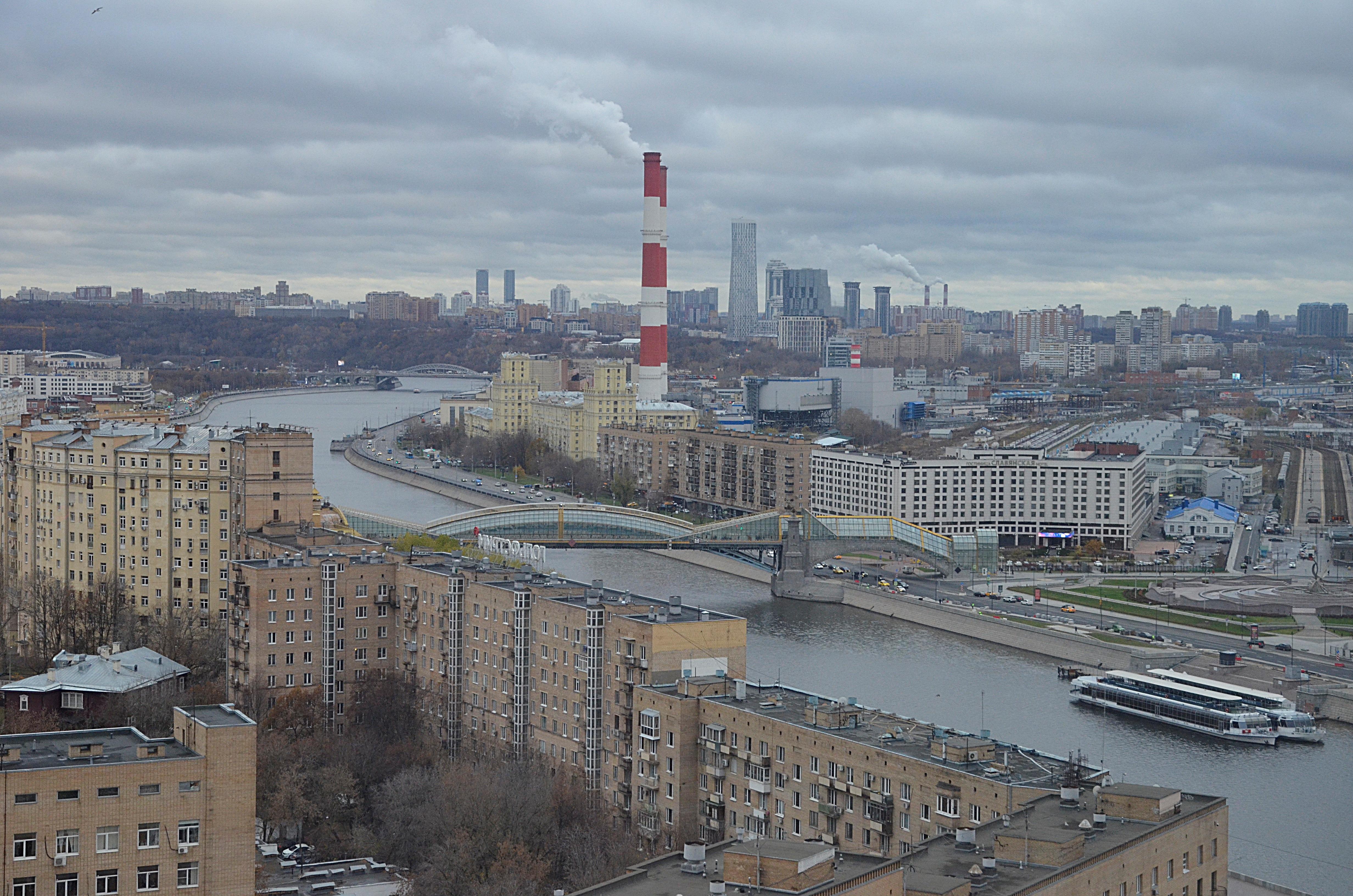 Атмосферное давление в Москве останется повышенным