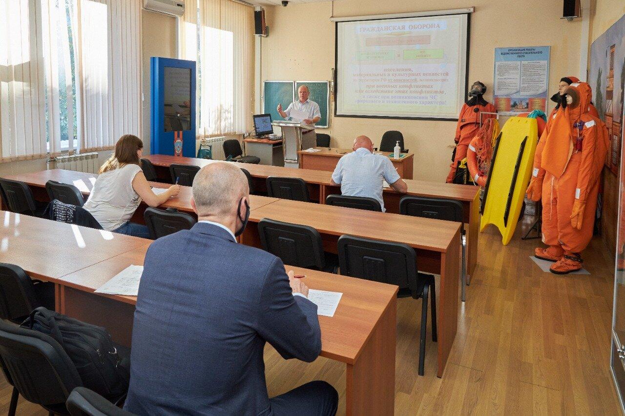 Учебно-методический центр по гражданской обороне и чрезвычайным ситуациям продолжает готовить специалистов дистанционно