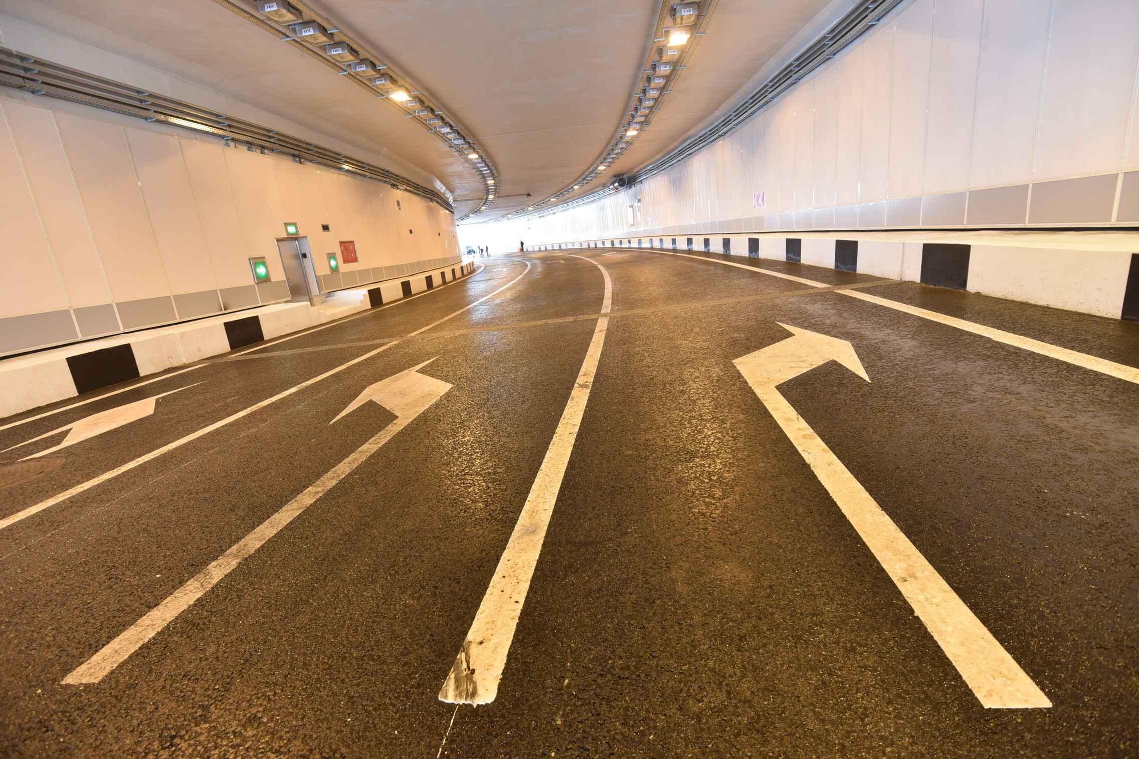 Тоннель и разворотный съезд дороги к аэропорту Остафьево поставили на кадастровый учет