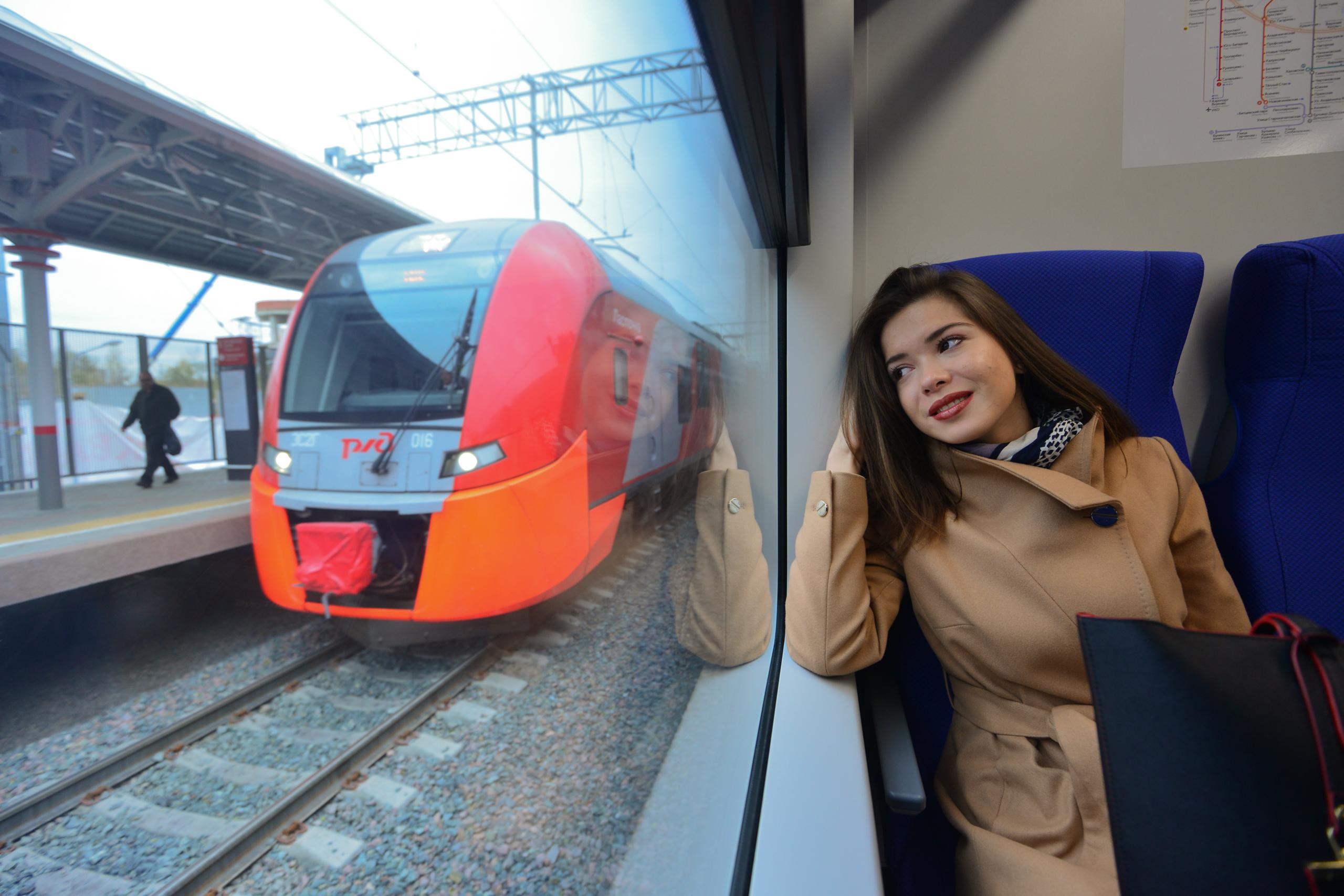 Поезда «Ласточки» на МЦК перейдут на график выходного дня 4 ноября
