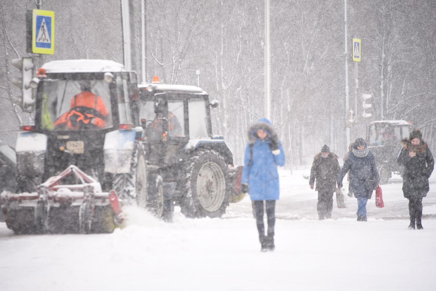 Непогода сохранится до 6:00 21 ноября. Фото: Пелагия Замятина