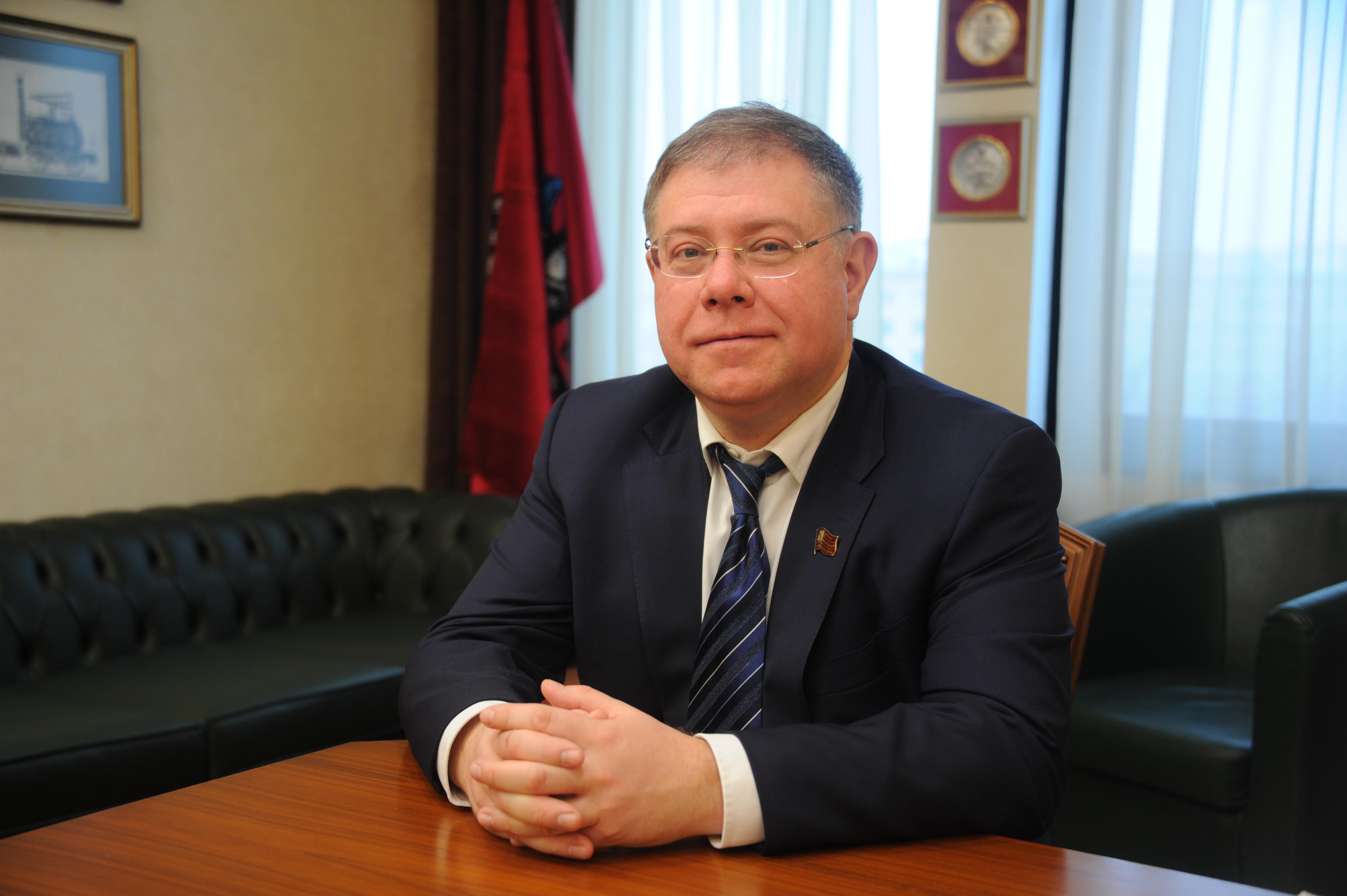 Депутат МГД Степан Орлов: Строительство метро и реконструкция МЦД в 2021 году продолжатся рекордными темпами