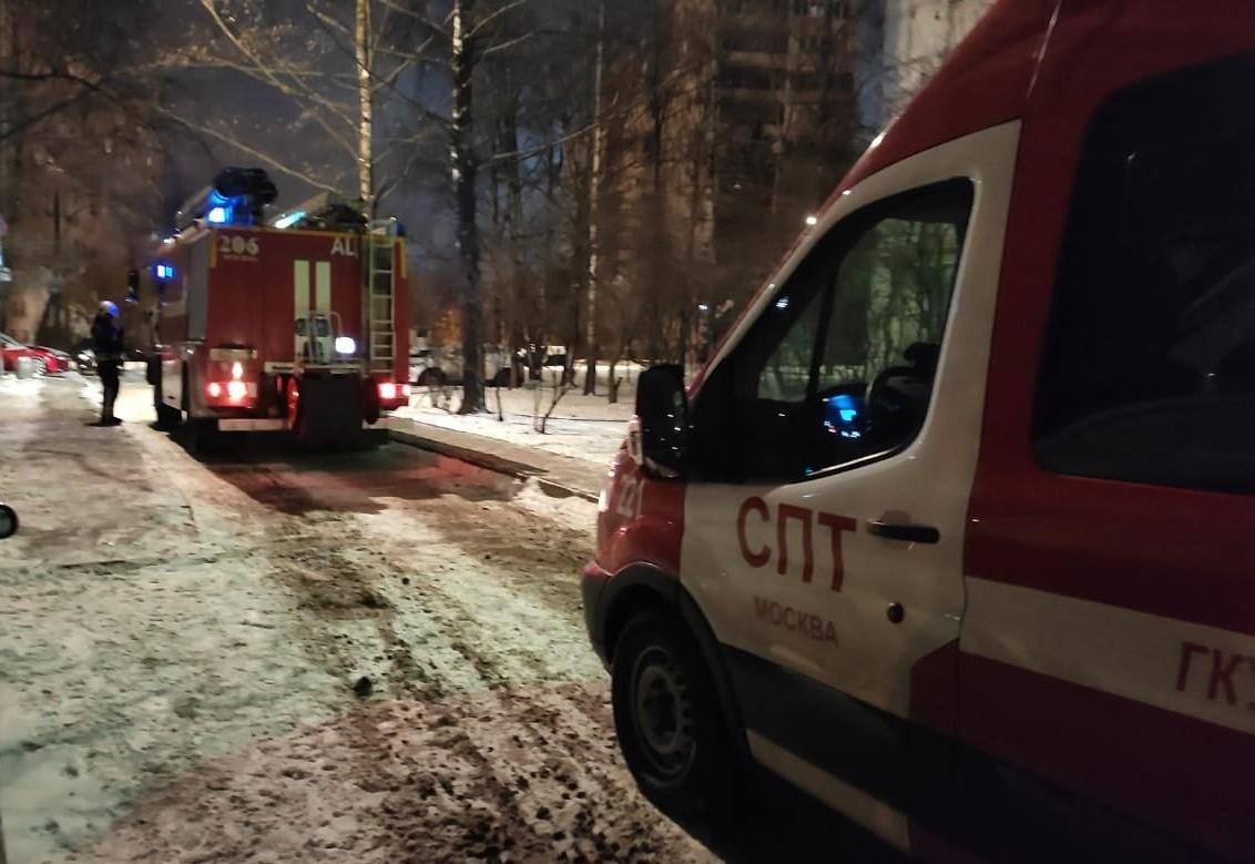 Благодарность московским пожарным