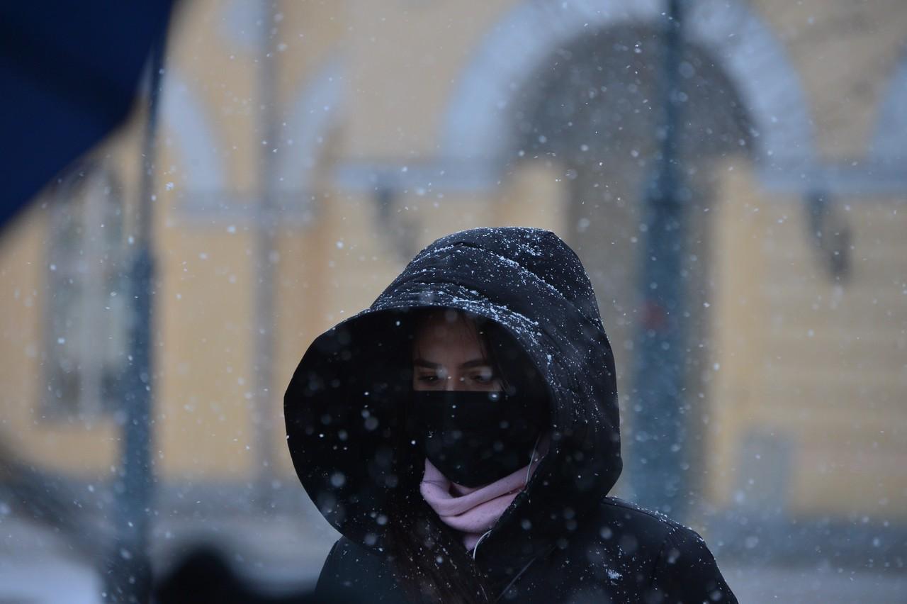 Москвичей ждет морозная погода в четверг