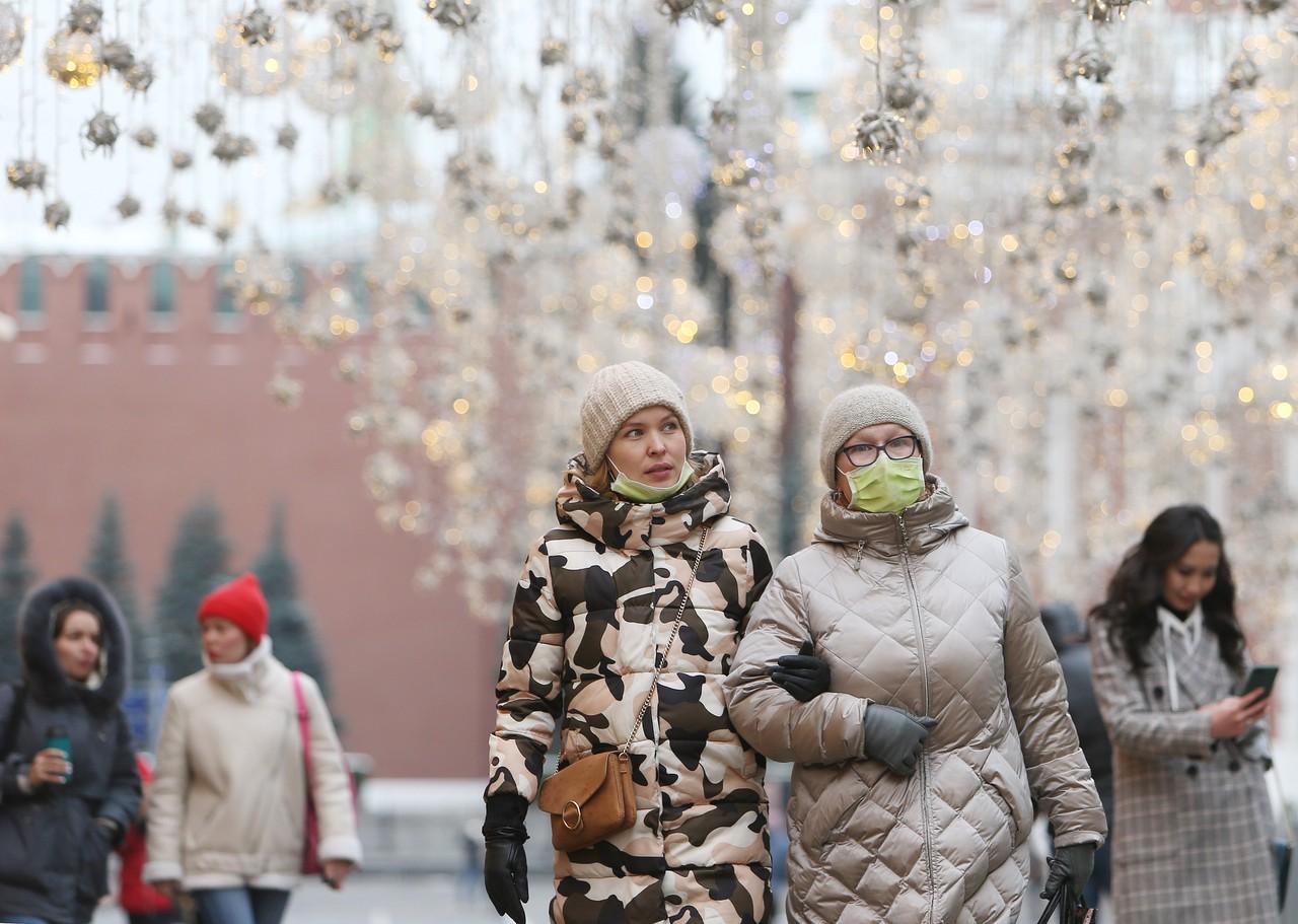 Москвичам пообещали морозную погоду в выходные