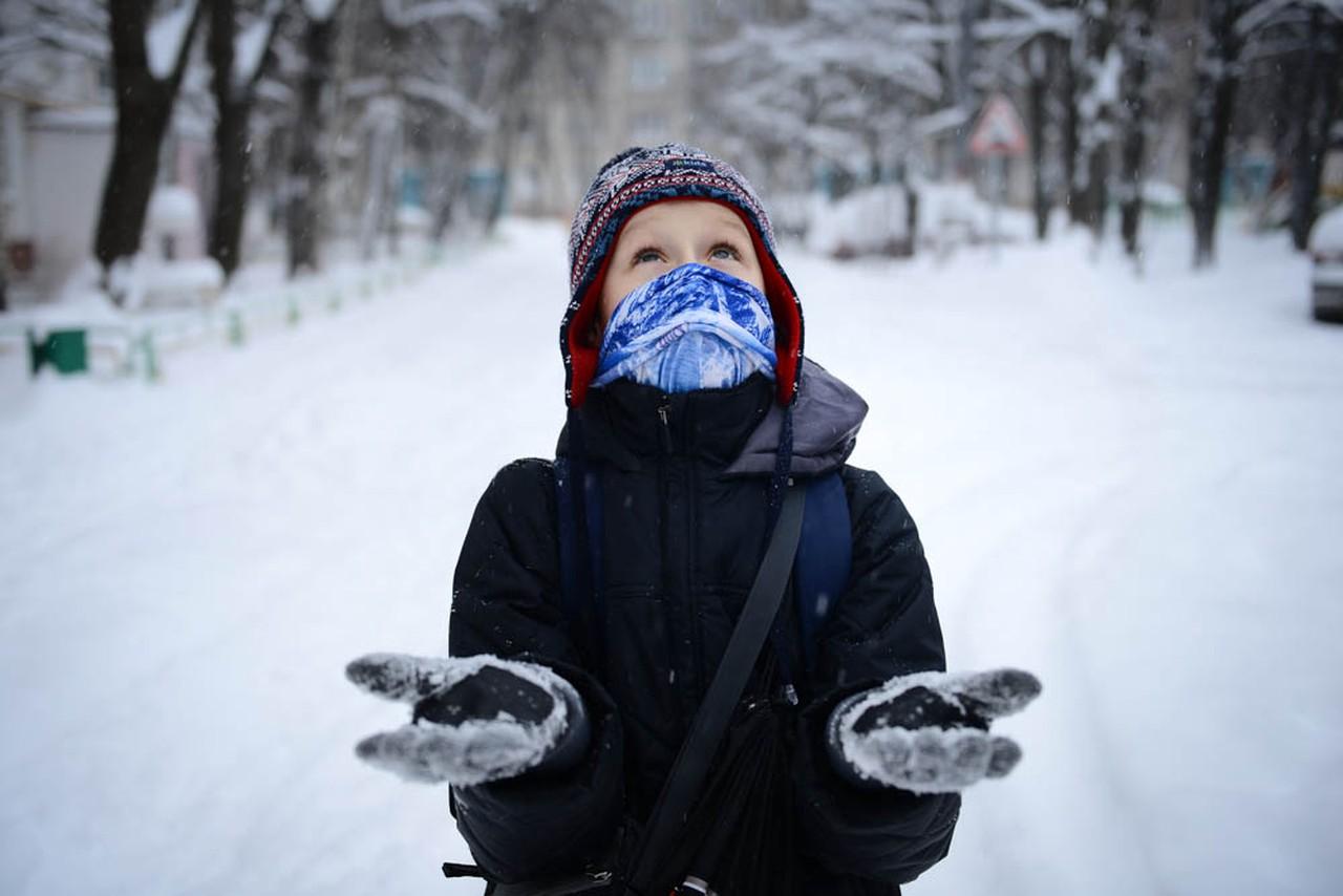Московская температура упадет до минус восьми в среду