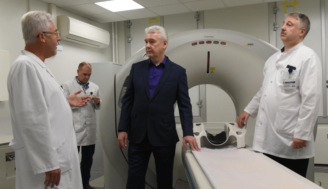 Собянин: Боткинская больница станет одной самых современных клиник в Европе