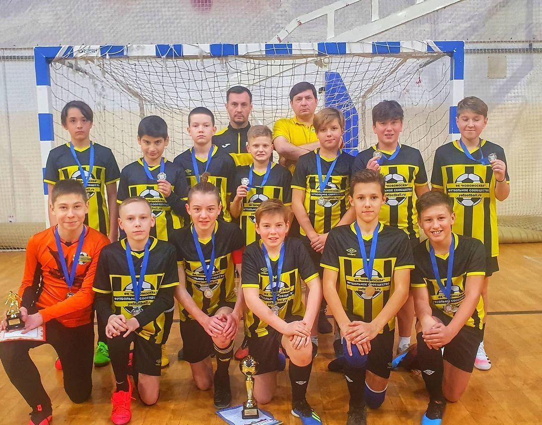 В следующем году ребята нацелены стать победителями. Фото: страница клуба «НовоМосква» в социальных сетях