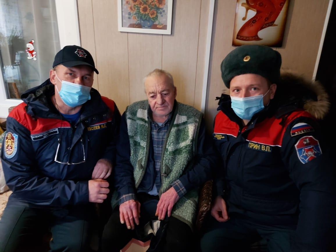 Московские пожарные стали участниками акции #МыВместе