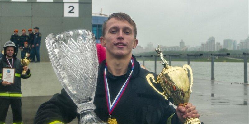 Лауреатом регионального этапа фестиваля «Созвездие мужества» стал сотрудник Пожарно-спасательного центра Москвы