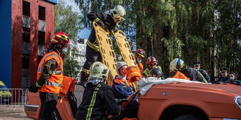 Определен лучший пожарно-спасательный отряд столицы