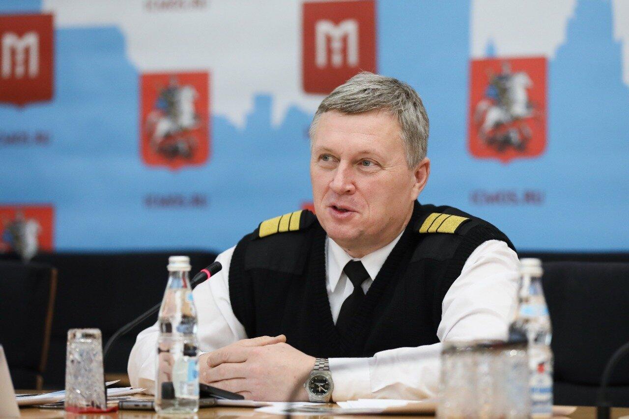 В Информационном центре Правительства Москвы прошла пресс-конференция «Московские спасатели в воздухе, на суше и на воде»