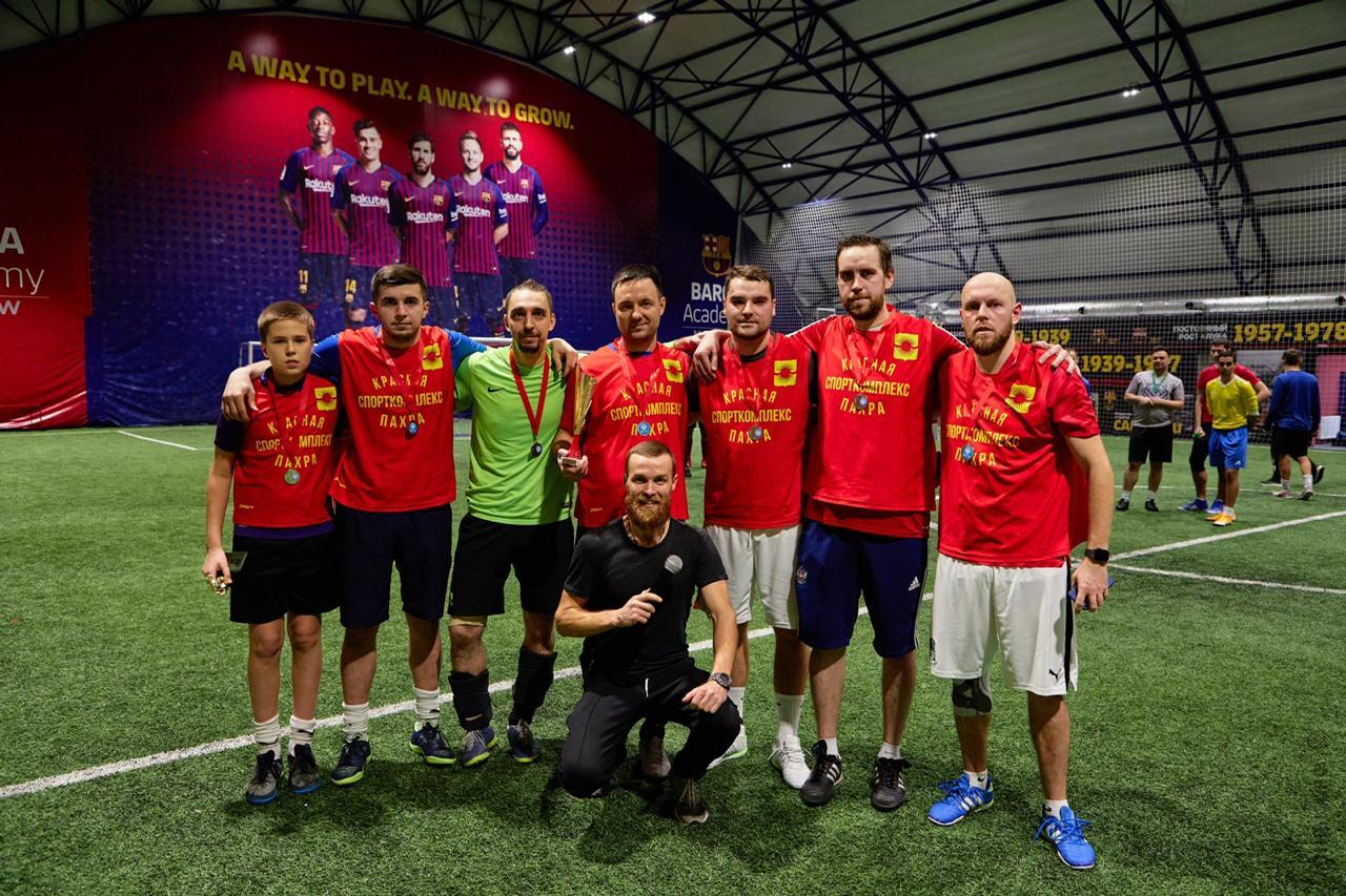 Футболисты Красной Пахры стали призерами новогоднего турнира