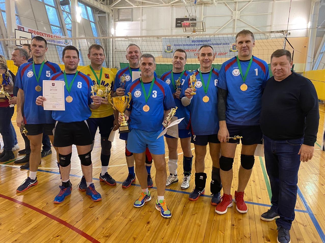 Волейболисты из Краснопахорского взяли «бронзу» спартакиады