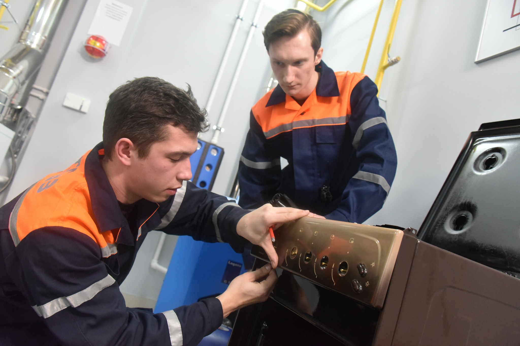 Работы по капитальному ремонту системы газоснабжения завершили в Сосенском