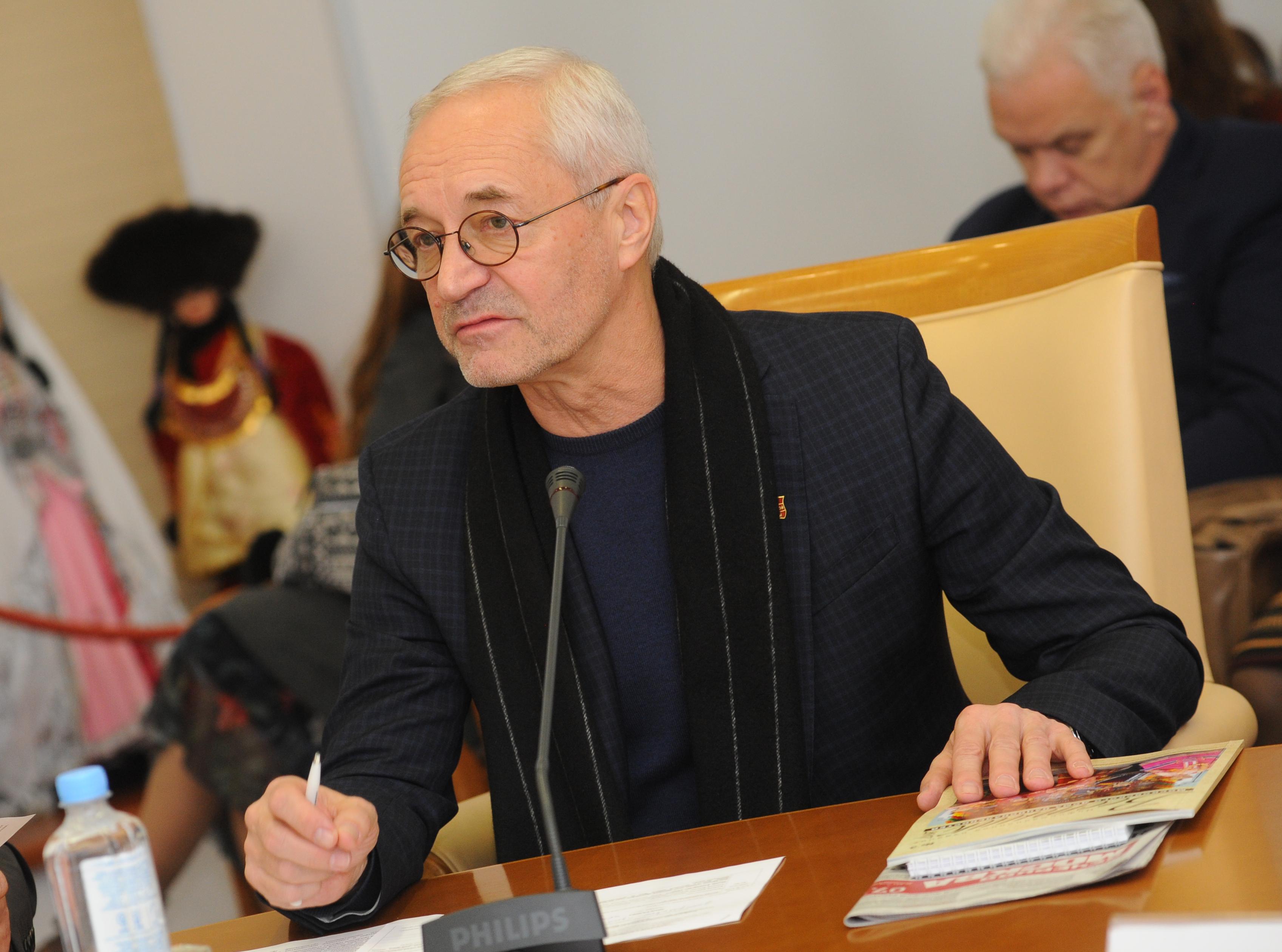 Депутат Мосгордумы Евгений Герасимов: У музея современной истории России появится новый  выставочный зал