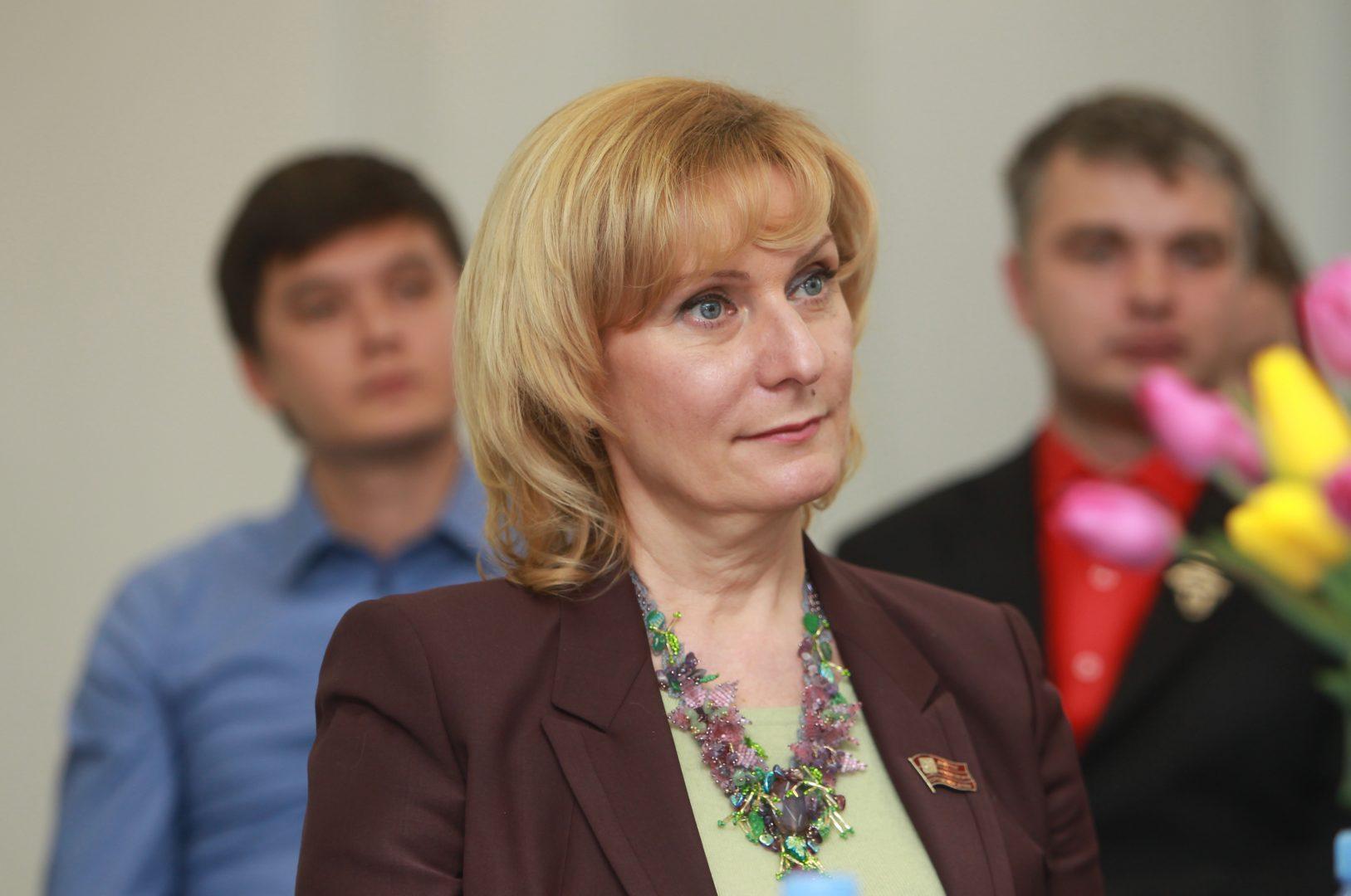 На фото сенатор Совет Федерации Инна Святенко