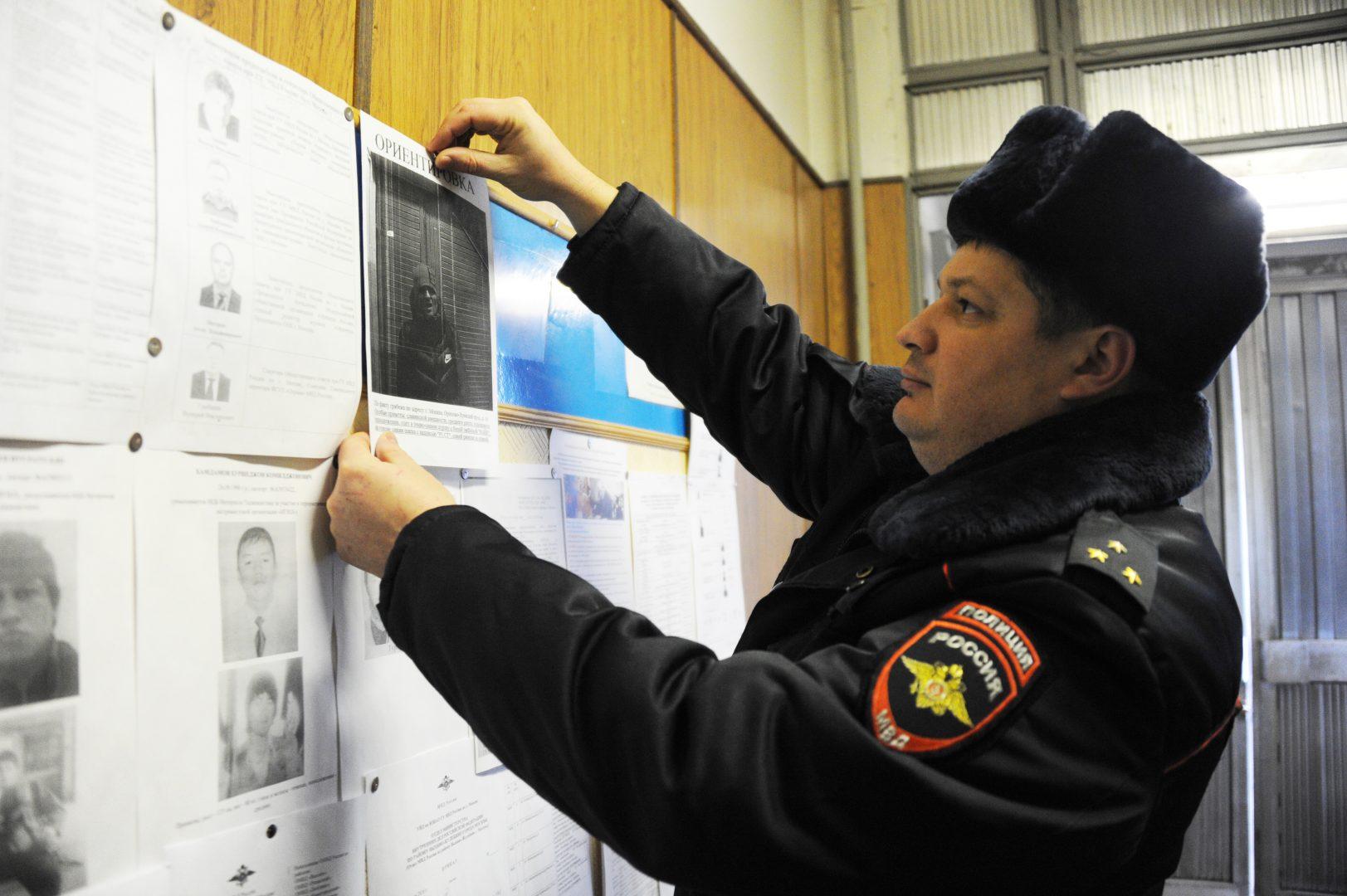 На территории Новой Москвы полицейские задержали подозреваемого в грабеже у пенсионерки. Фото: Светлана Колоскова, «Вечерняя Москва»