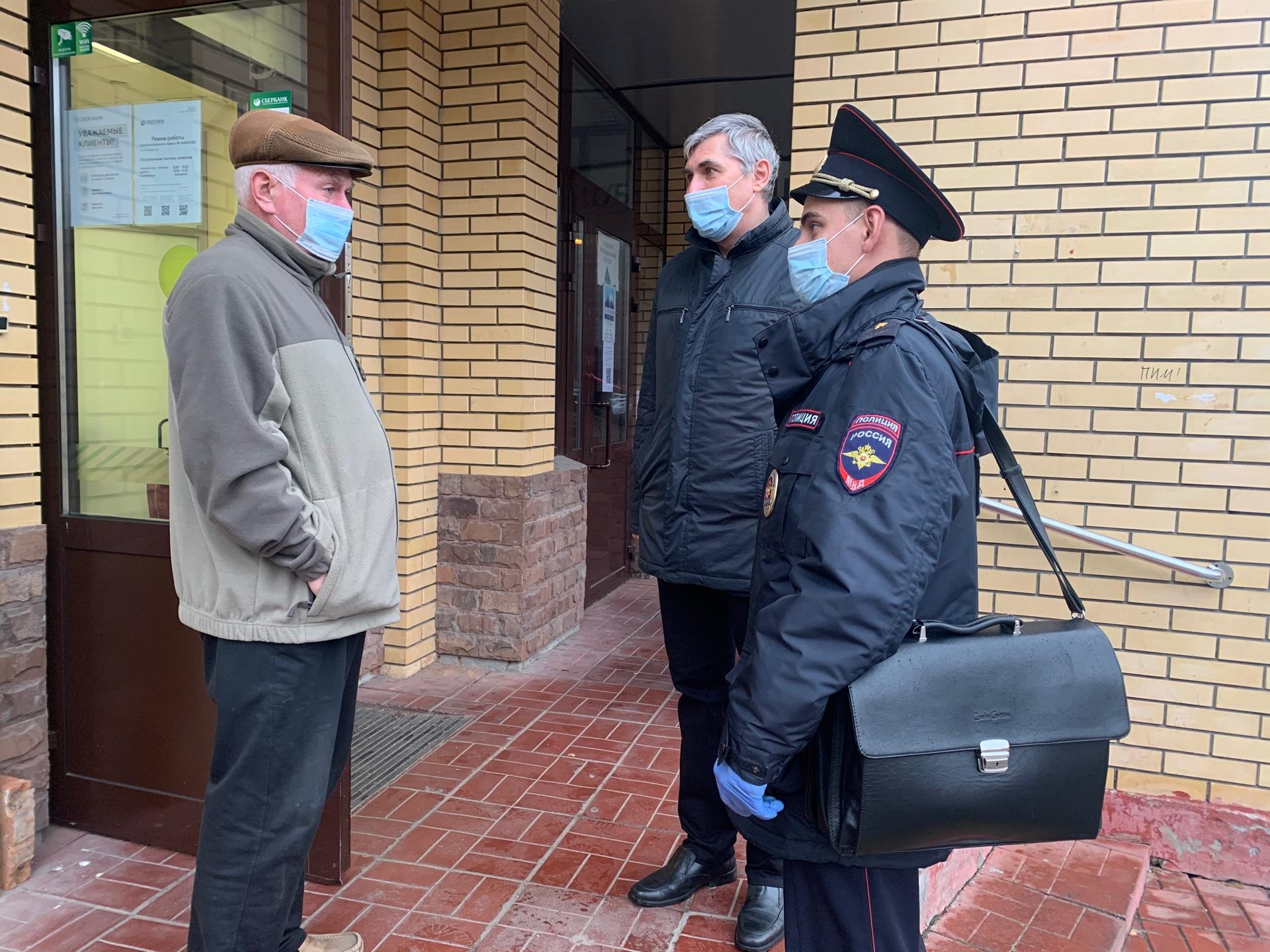 В ТиНАО задержан подозреваемый в грабеже пенсионера