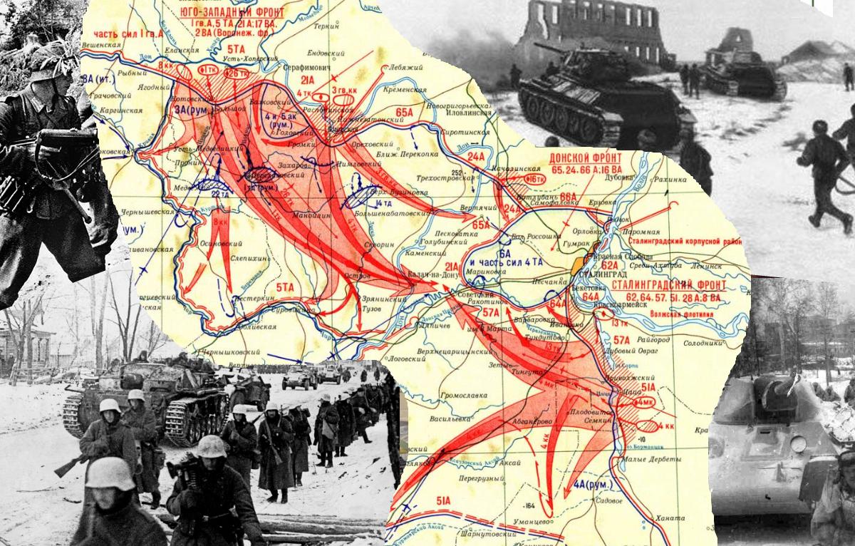 Чтобы помнили: 19 ноября 1942 года началось контрнаступление советских войск под Сталинградом
