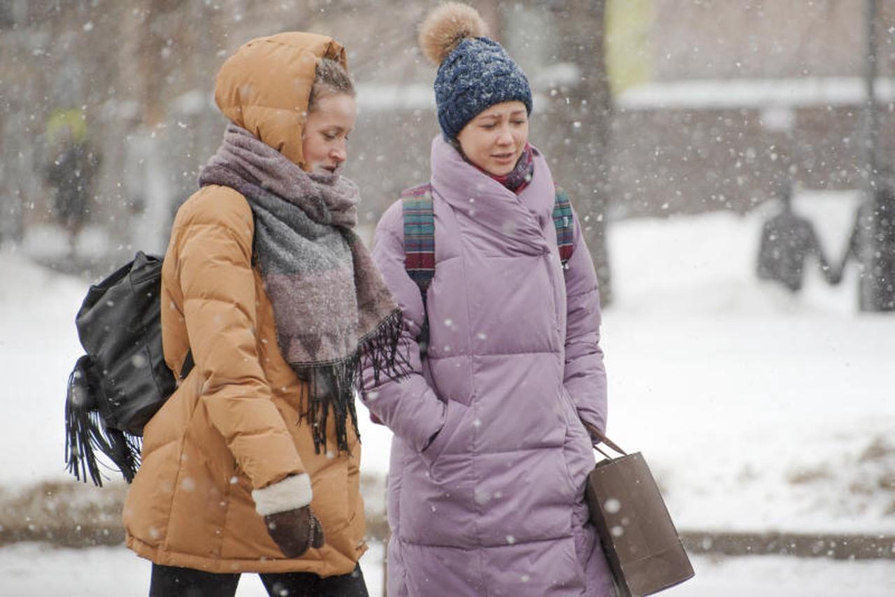 Москвичей ждет мокрый снег в четверг