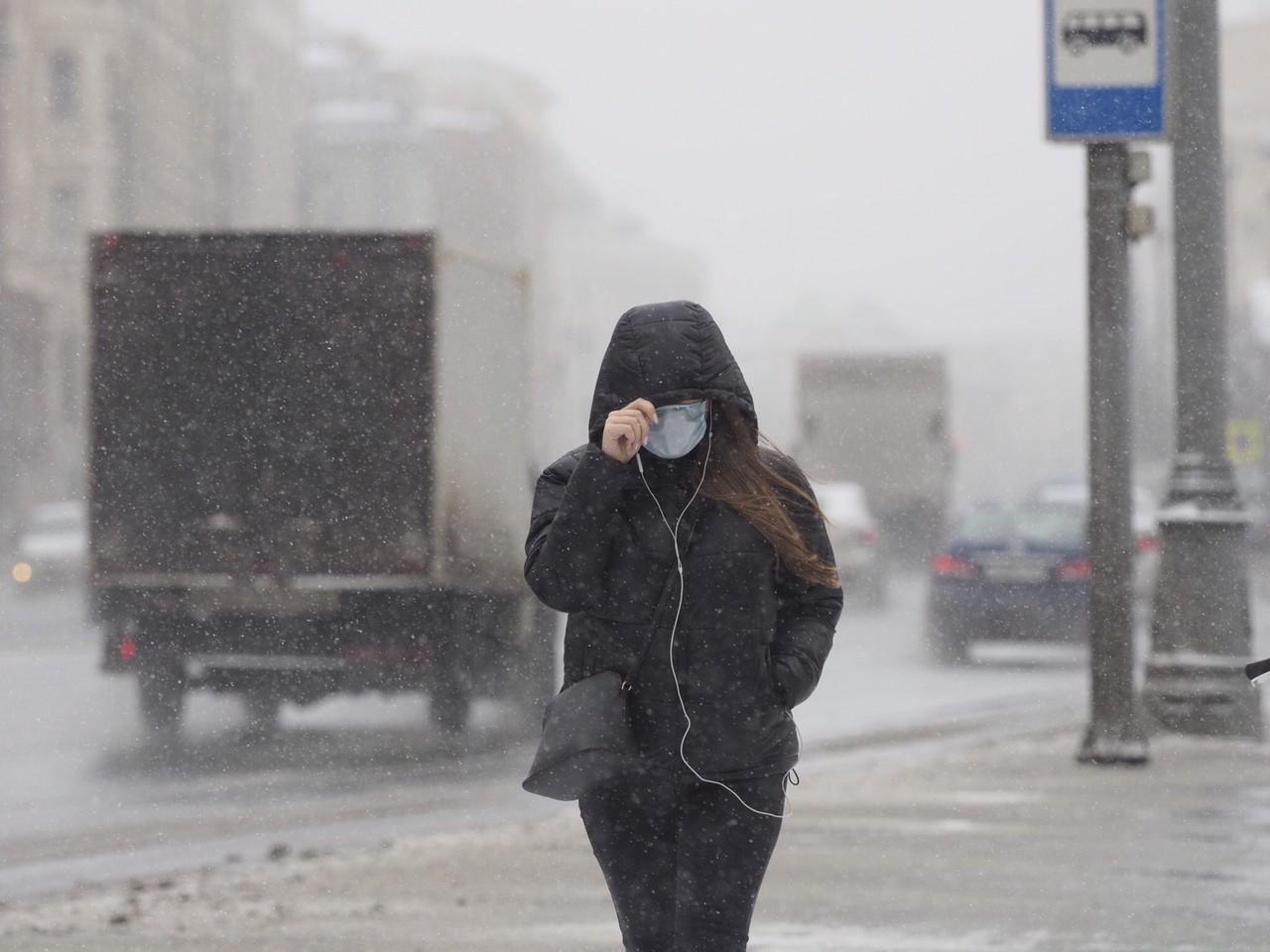 Московская температура достигнет шести градусов мороза в четверг