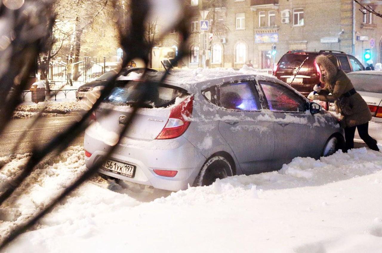 В Москве объявили «желтый» уровень опасности