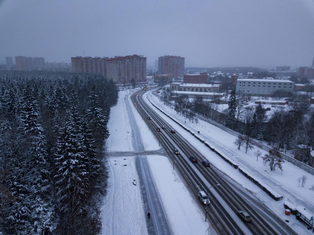 Свыше 20 километров дорог построили в Новой Москве в этом году