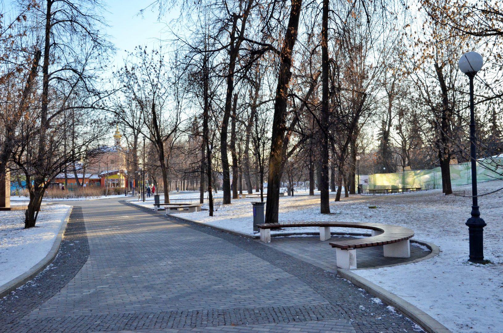 Парки столицы приглашают на онлайн-концерты и рождественские мастер-классы. Фото: Анна Быкова
