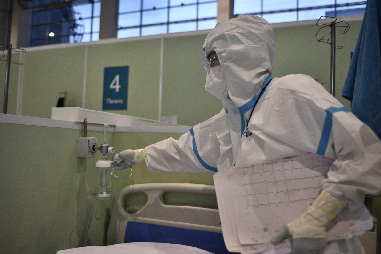 Более четырех тысяч людей заразились коронавирусной инфекцией. Фото: Пелагея Замятина, «Вечерняя Москва»