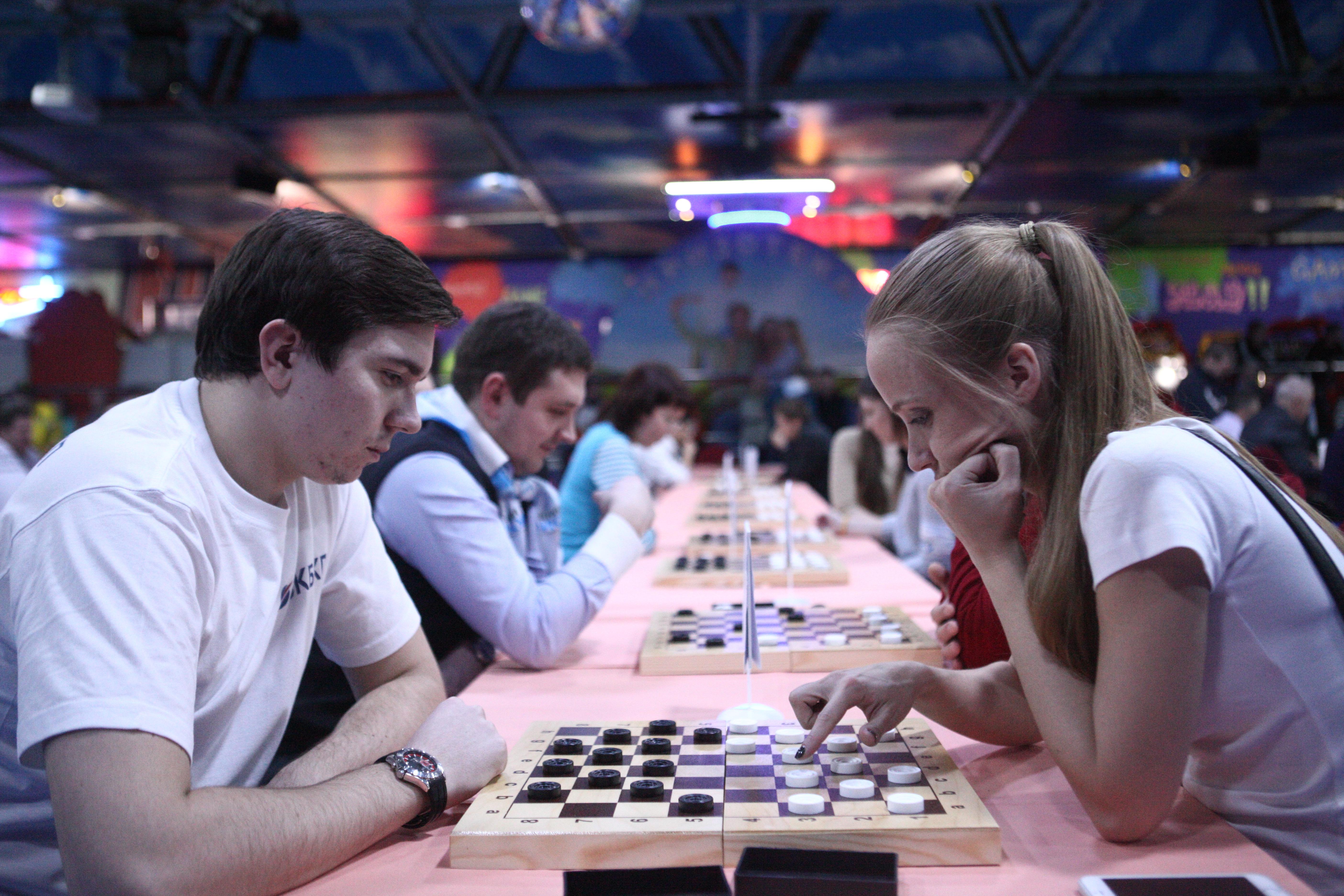 Турнир по шашкам прошел в Филимонковском