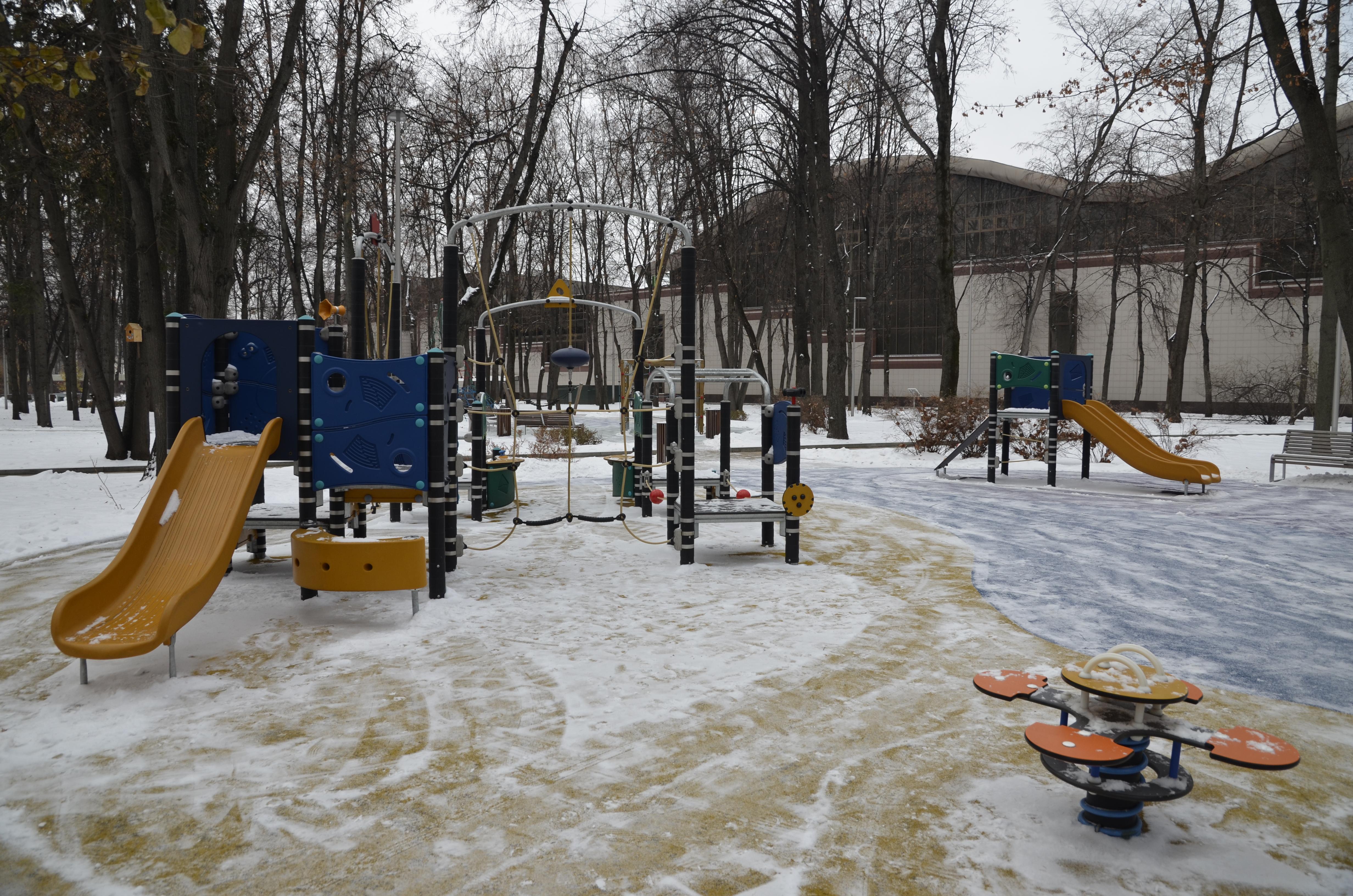 Жители Краснопахорского выбрали формат благоустройства детской площадки в поселении