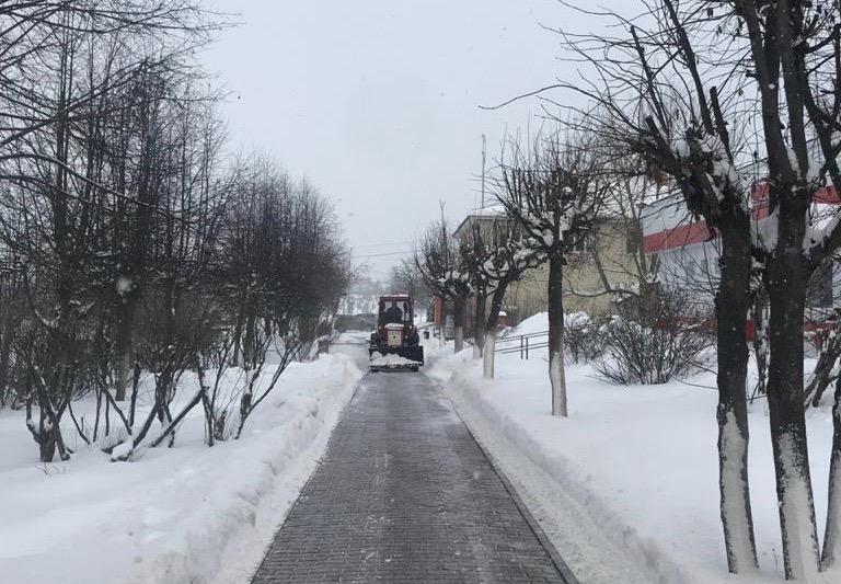Уборку снега проведут в Роговском