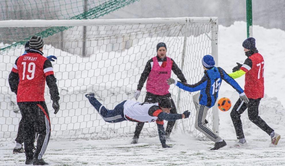 Футбольная команда поселения Воскресенское выиграла матч окружного первенства. Фото предоставил тренер команды