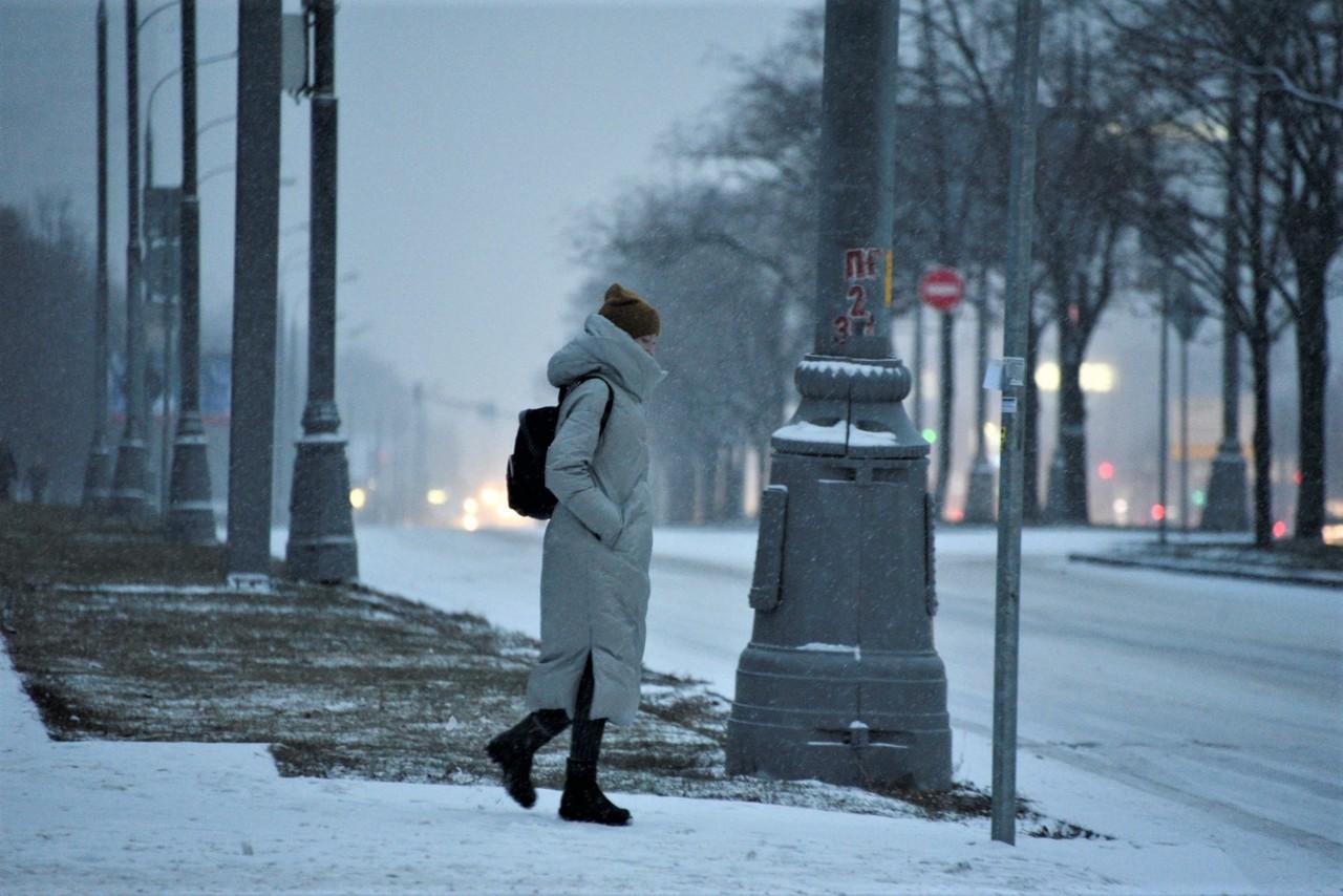 Морозная погода будет в Москве в праздничные дни