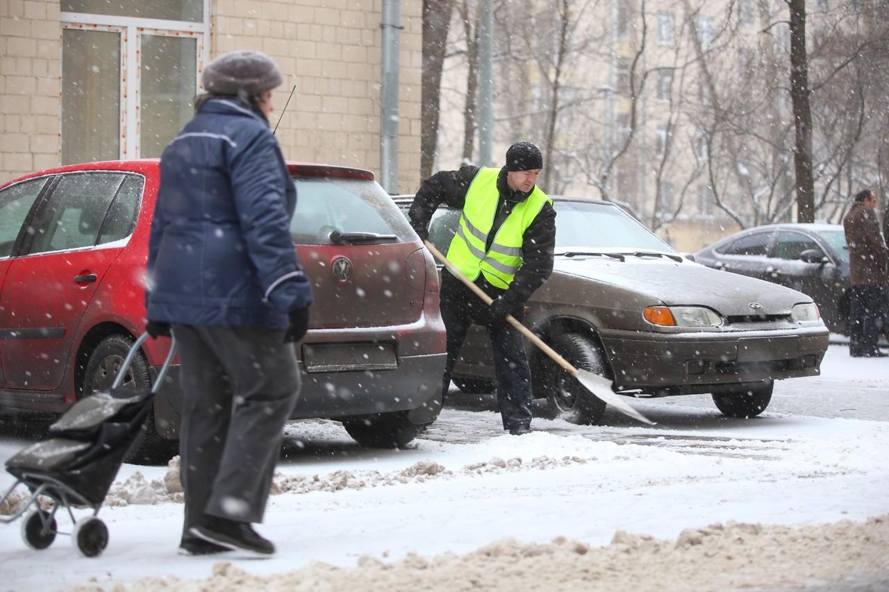Москву избавили от 28 миллионов кубометров снега за неделю