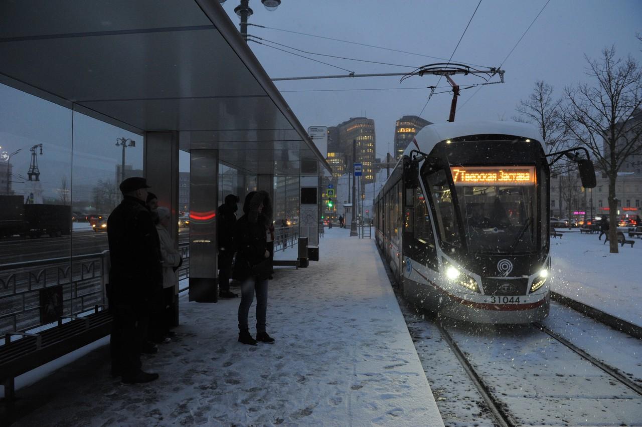 В Москве в этом году появятся первые односекционные трамваи «Витязь»
