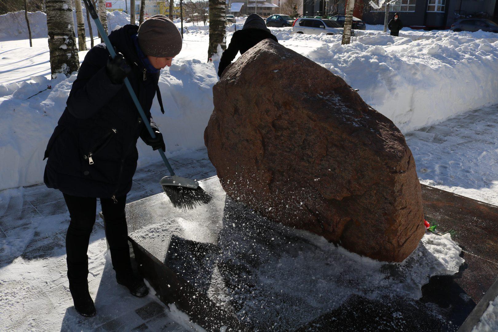 В Москве началась акция по уборке памятников воинов Великой Отечественной войны