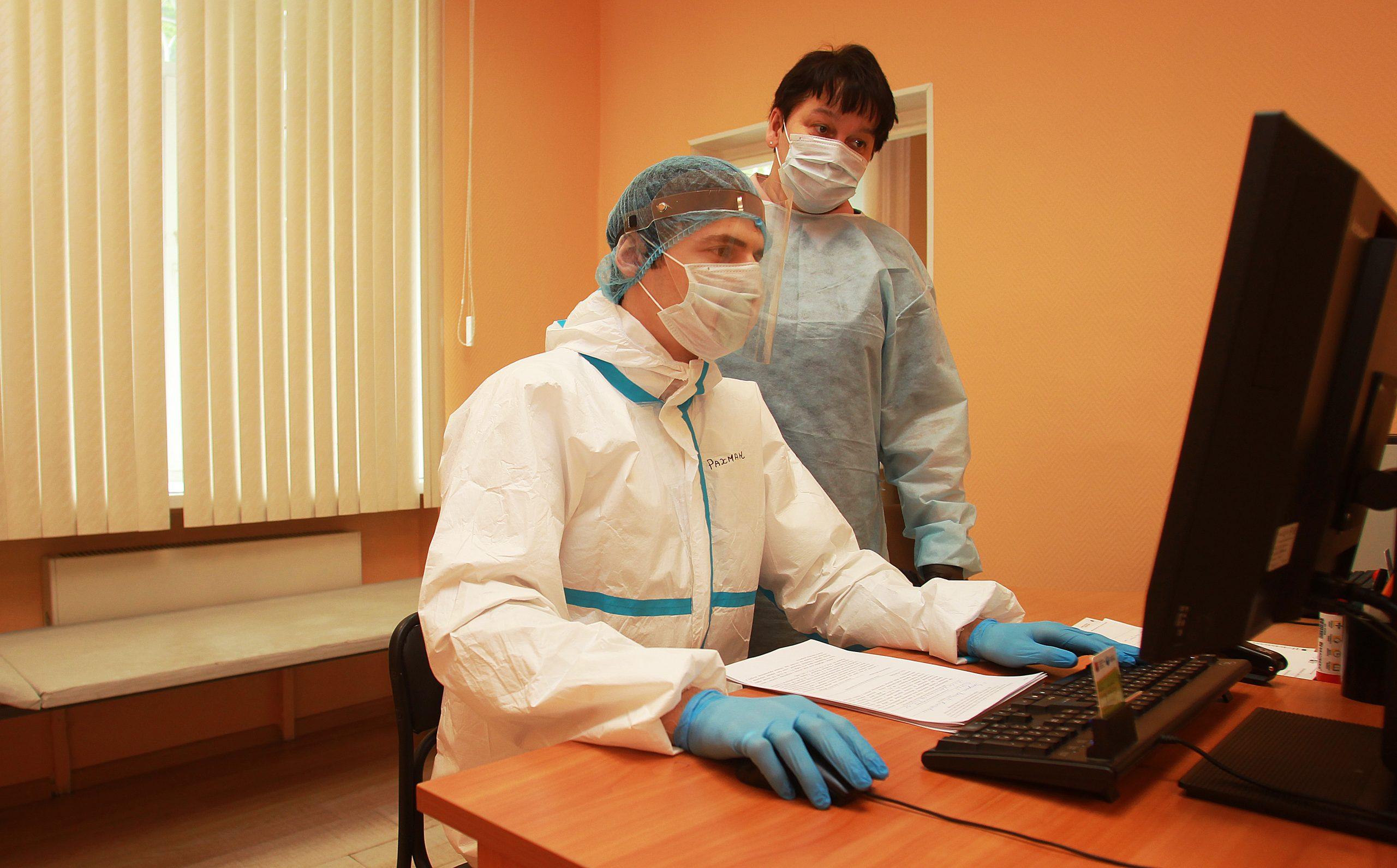 Москва начинает переход на электронные медкарты без дублирования на бумаге. Фото: Наталия Нечаева «Вечерняя Москва»