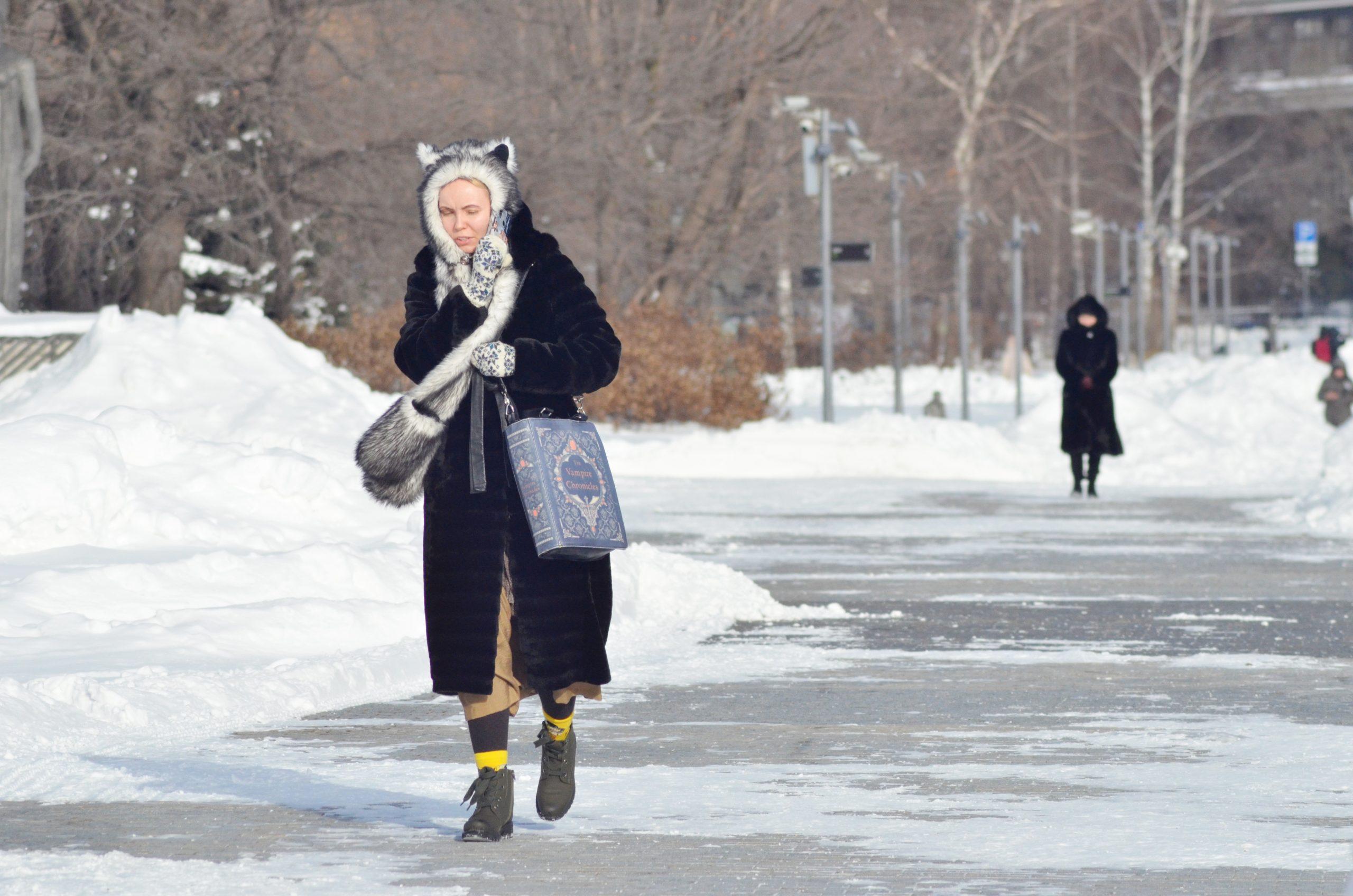 Московская температура вернется в «минус» на выходных