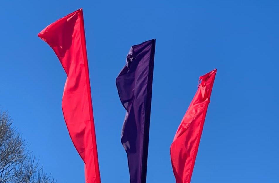 Праздничные украшения ко Дню защитника Отечества установят в Десеновском. Фото предоставили сотрудники администрации