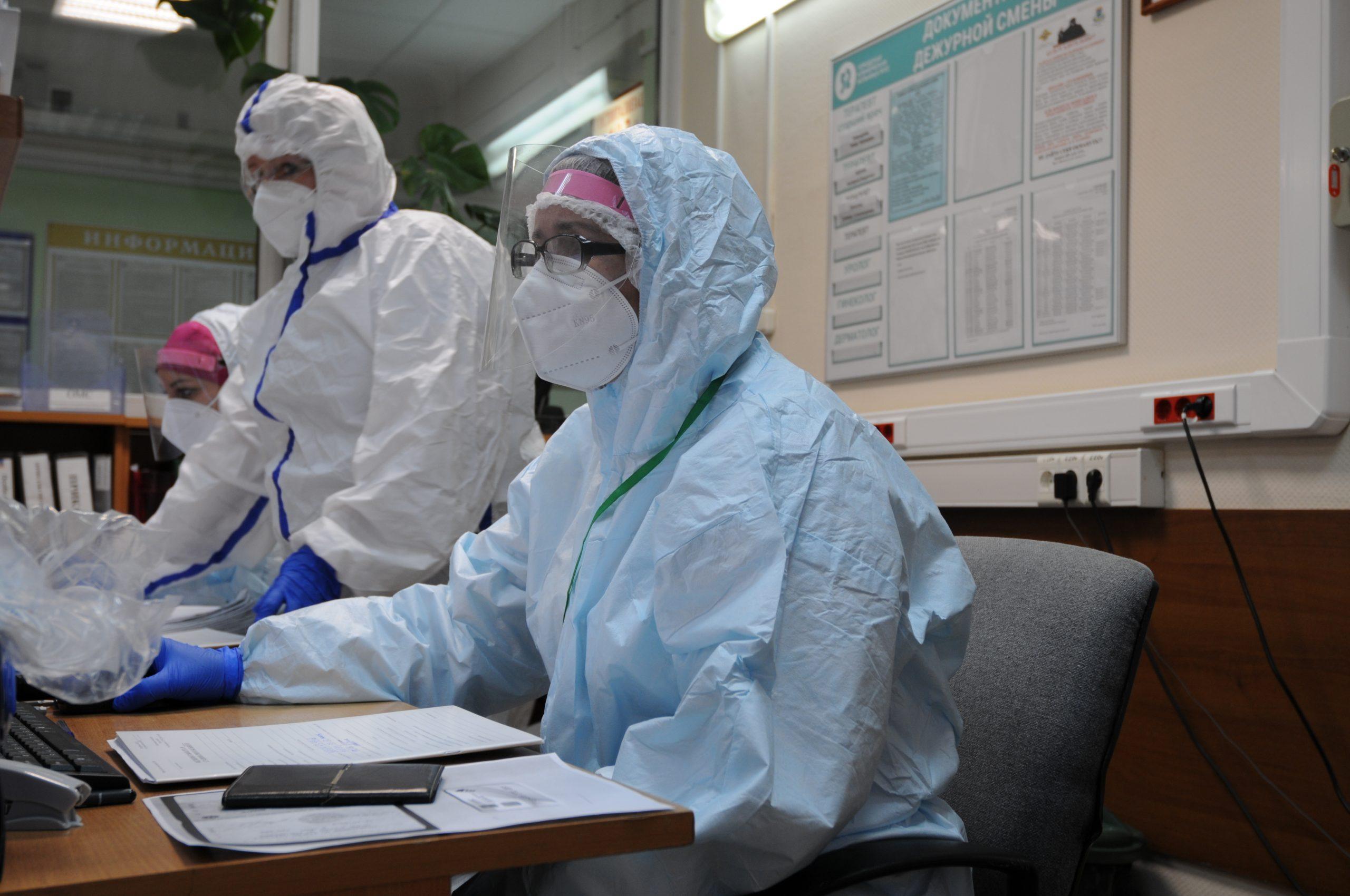 Сотрудники штаба по предупреждению распространения коронавируса поделились информацией о зараженных в столице за последние сутки