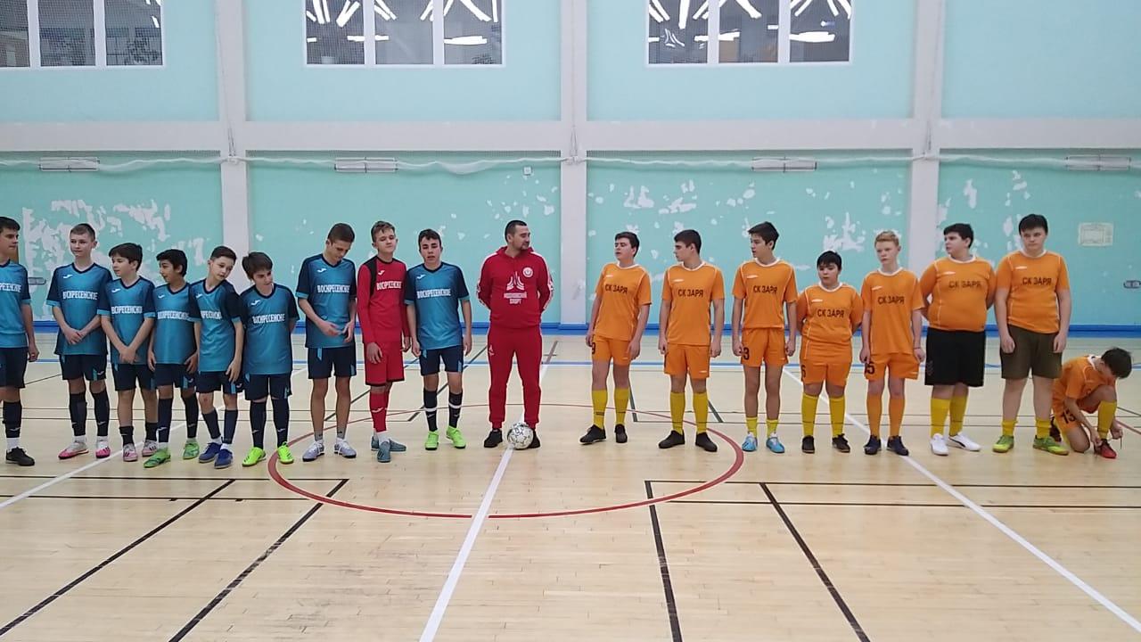 Футбольная команда из Воскресенского стала победителем отборочного этапа межокружного турнира