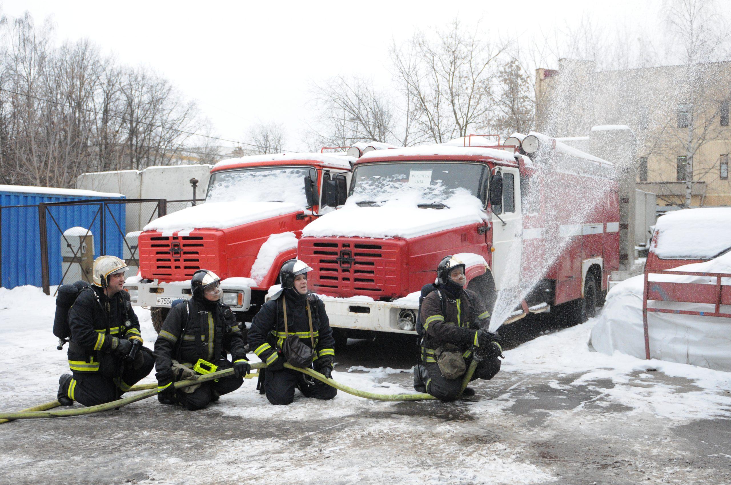 Новое пожарное депо со скалодромом построят в Новофедоровском