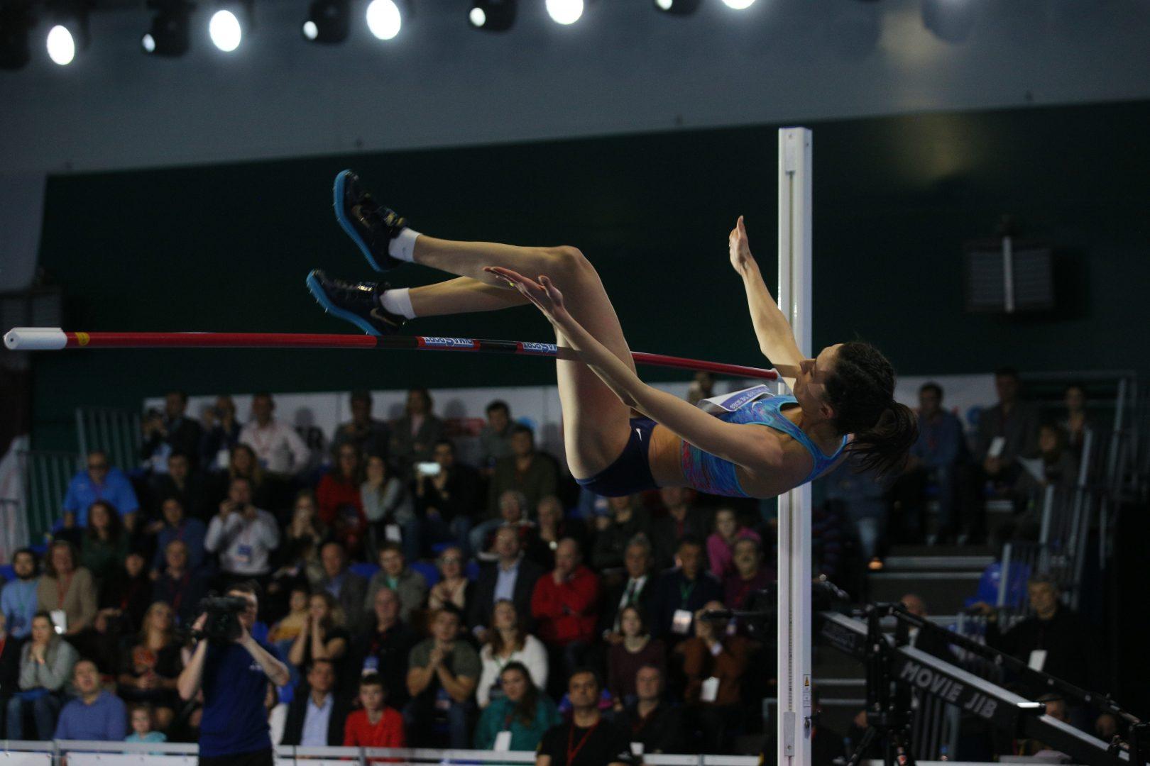 Соревнования по прыжкам в высоту состоятся в Москве. Фото: Антон Гердо, «Вечерняя Москва»