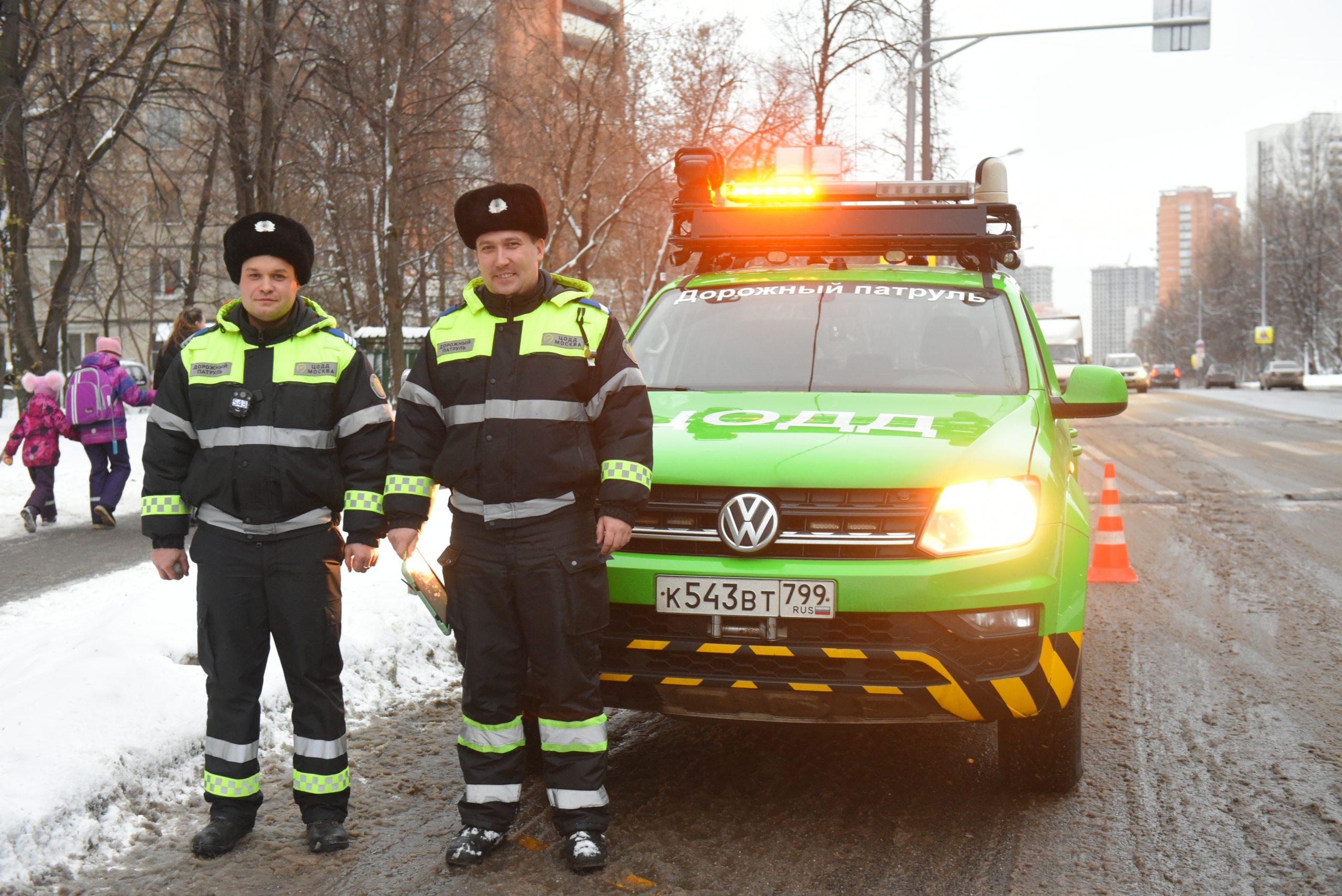 Патрульные вышли на дежурство. Фото: Александр Кожохин